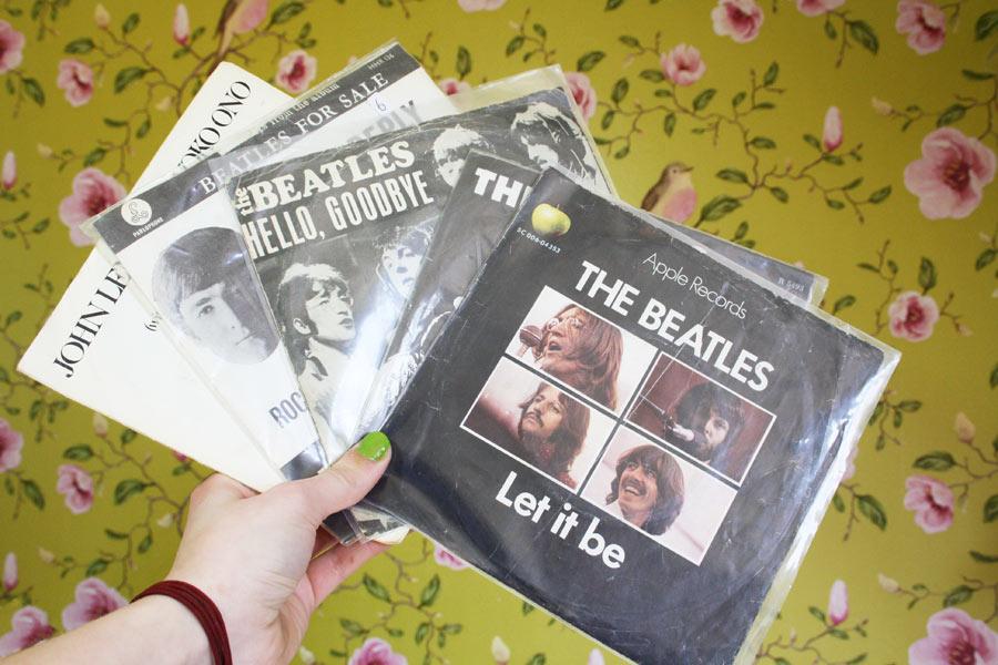 beatles-singeltjes
